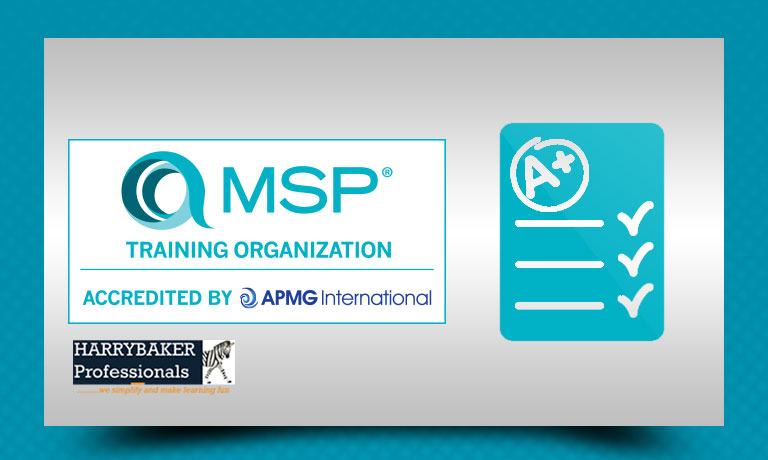 Managing Successful Programmes MSP Foundation online exam